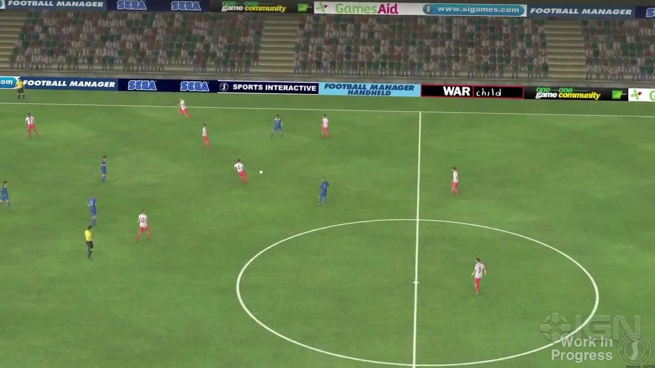 Football Manager 2014 - Pre-Beta Match Engine Footage