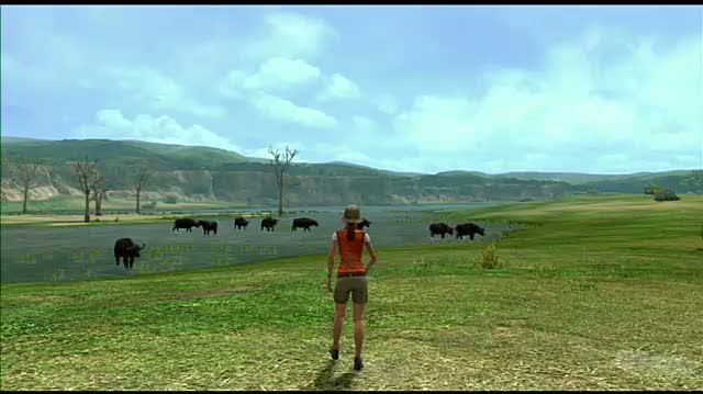 Afrika PlayStation 3 Gameplay - KO'd by a Buffalo