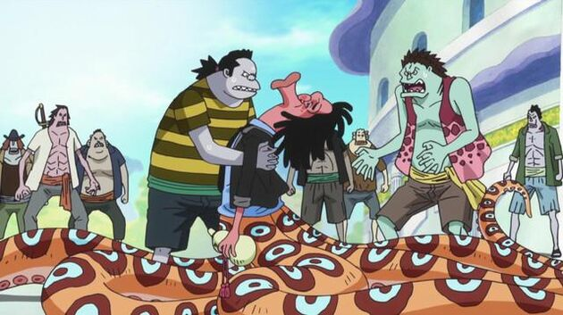 One Piece - Episode 550 - Something Has Happened to Hordy! the True Power of the Evil Drug!