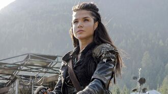 The 100 Octavia's Struggles with Lincoln and Bellamy in Season 3 - Marie Avgeropoulos Interview