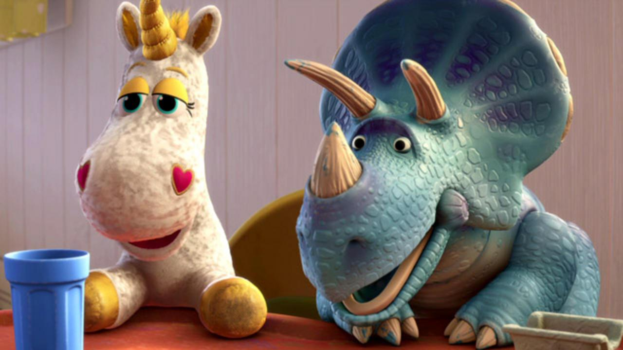 Toy Story 3 DVD Blu-ray Special Feature Clip - New Characters
