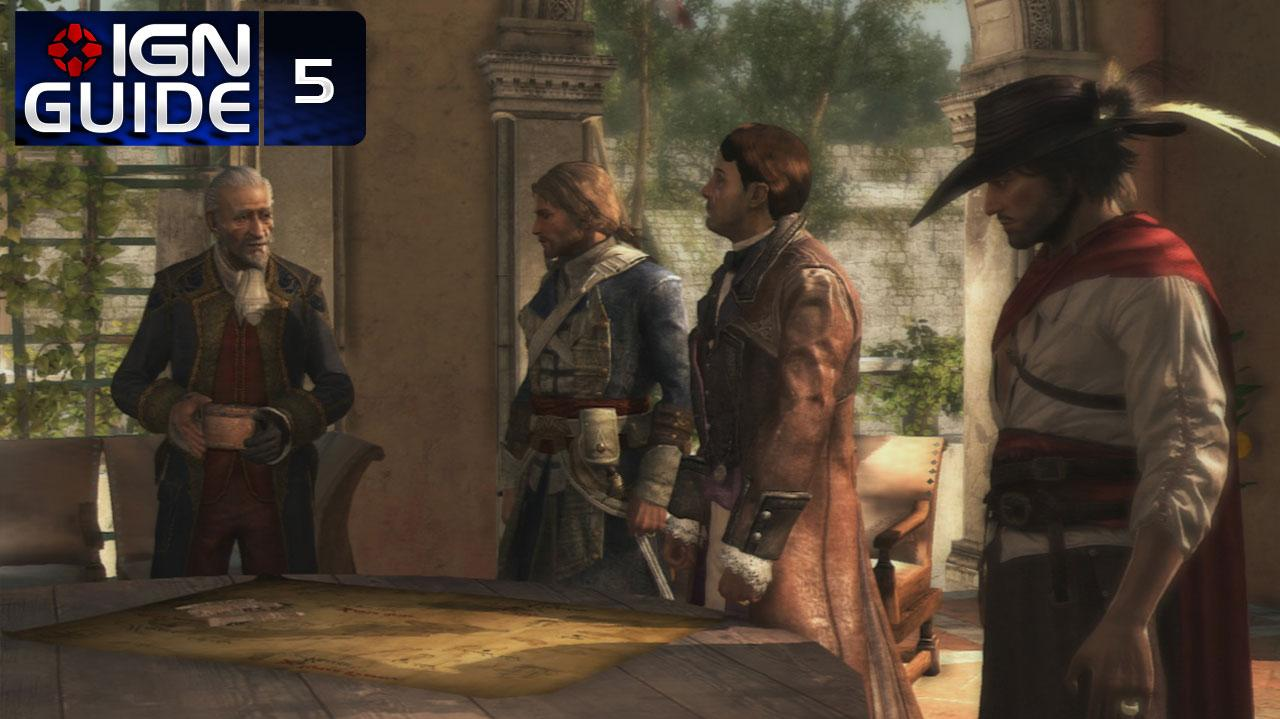 Assassin's Creed 4 Walkthrough - Sequence 02 Memory 03 Mr