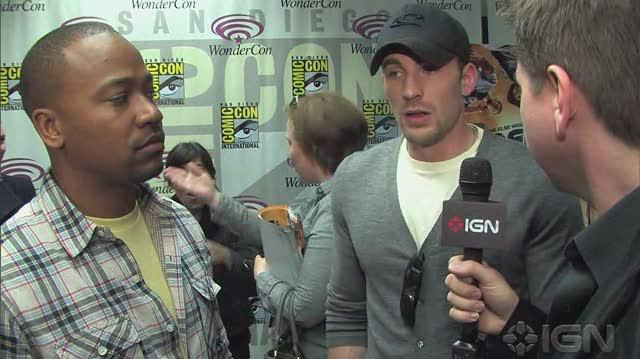 Captain America The First Avenger Movie Interview - WC 10 Chris Evans