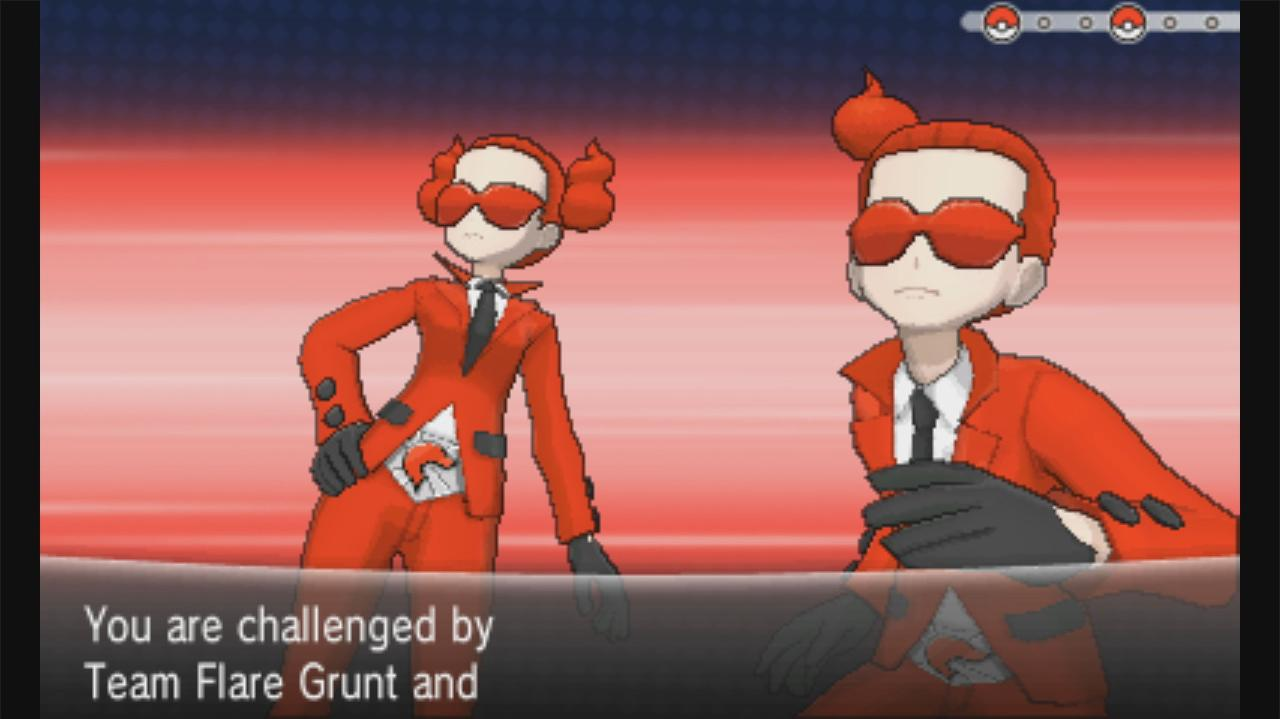 Pokemon X and Y Walkthrough The Glittering Caves - Team Flare