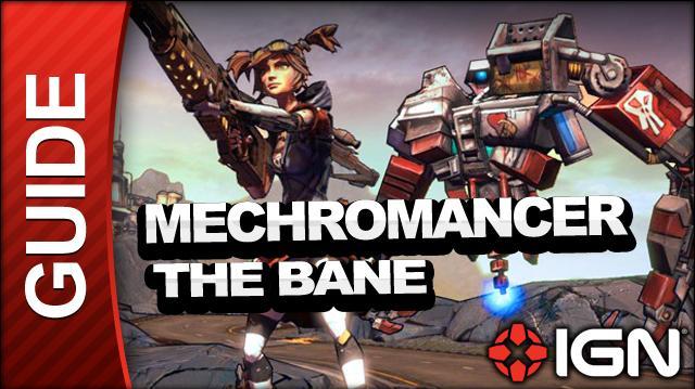 Borderlands 2 Mechromancer Walkthrough - The Bane Part 1 - Side Mission