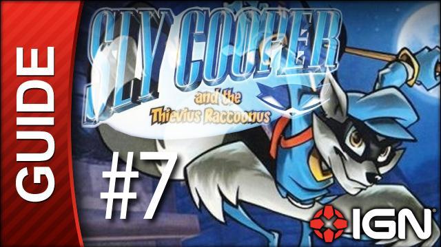 Sly Cooper Thievius Raccoonus Walkthrough - 7 Episode 1 Part 3 Into the Machine
