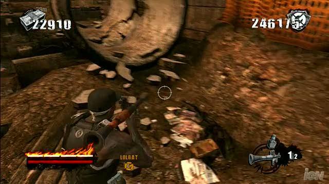 50 Cent Blood on the Sand Xbox 360 Gameplay - Die Die