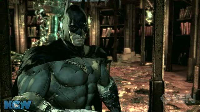 Batman Arkham Asylum Video Guide-Walkthrough - BAA - Library