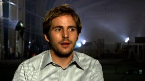 "Cloverfield (2008) - Interview Michael Stahl-David ""On all hell breaking loose"""