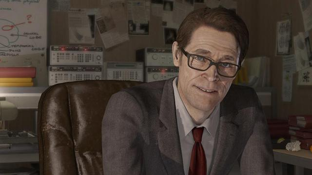 Introducing Willem Dafoe in Beyond Two Souls
