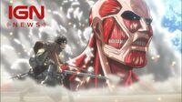 Koei Tecmo Announces Attack on Titan Tie-In - IGN News