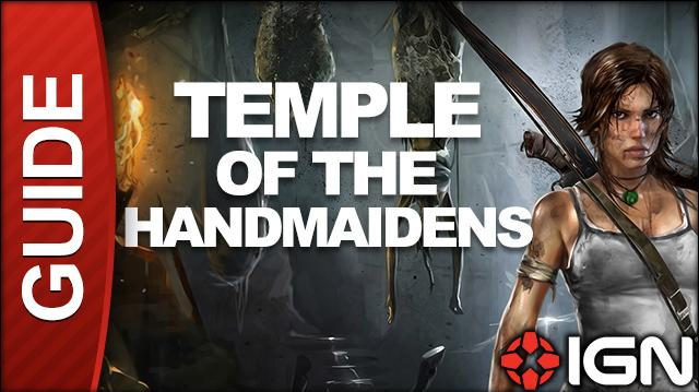 Tomb Raider Walkthrough - Tomb 07 Temple of the Handmaidens