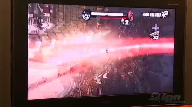 Red Steel 2 Nintendo Wii Gameplay - TGS 09 Finish Move (Off Screen)