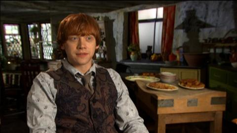 "Harry Potter and the Deathly Hallows Part 1 (2010) - Interview ""Rupert Grint On Doing A Road Film"""