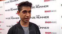 The Maze Runner - Alex Flores Interview