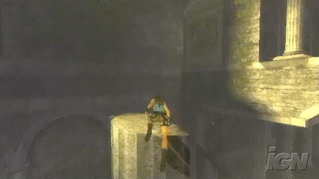Tomb Raider Anniversary PlayStation 2 Gameplay - Jump, Jump
