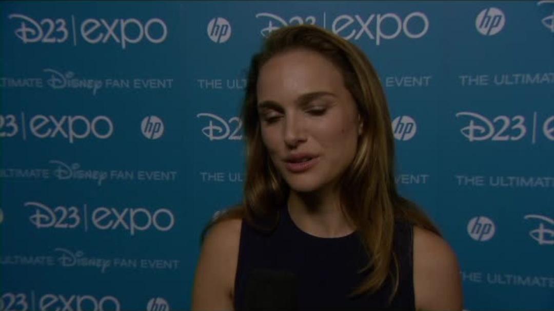 Thor The Dark World - Natalie Portman - D23 Interview