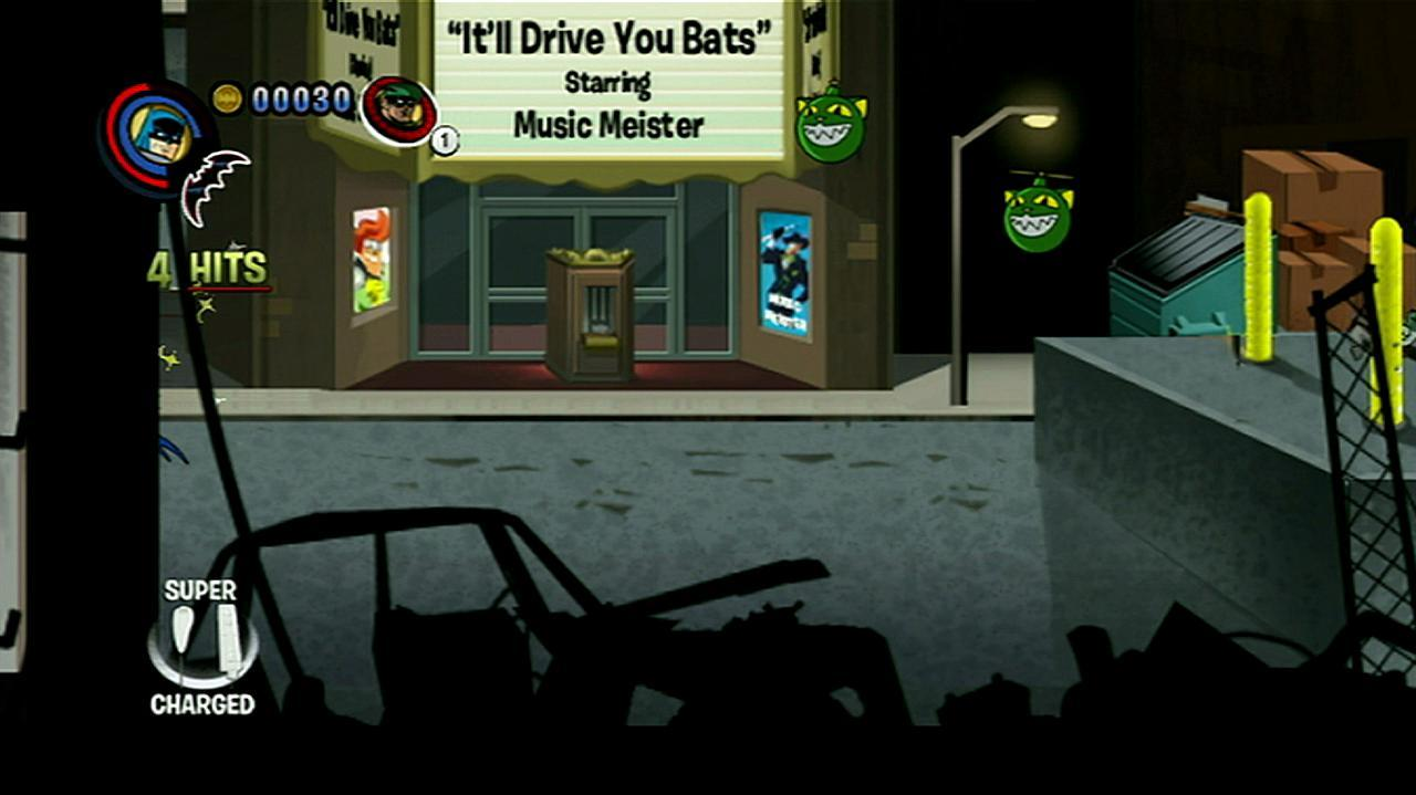 Batman The Brave and the Bold Mobsters Gameplay Clip