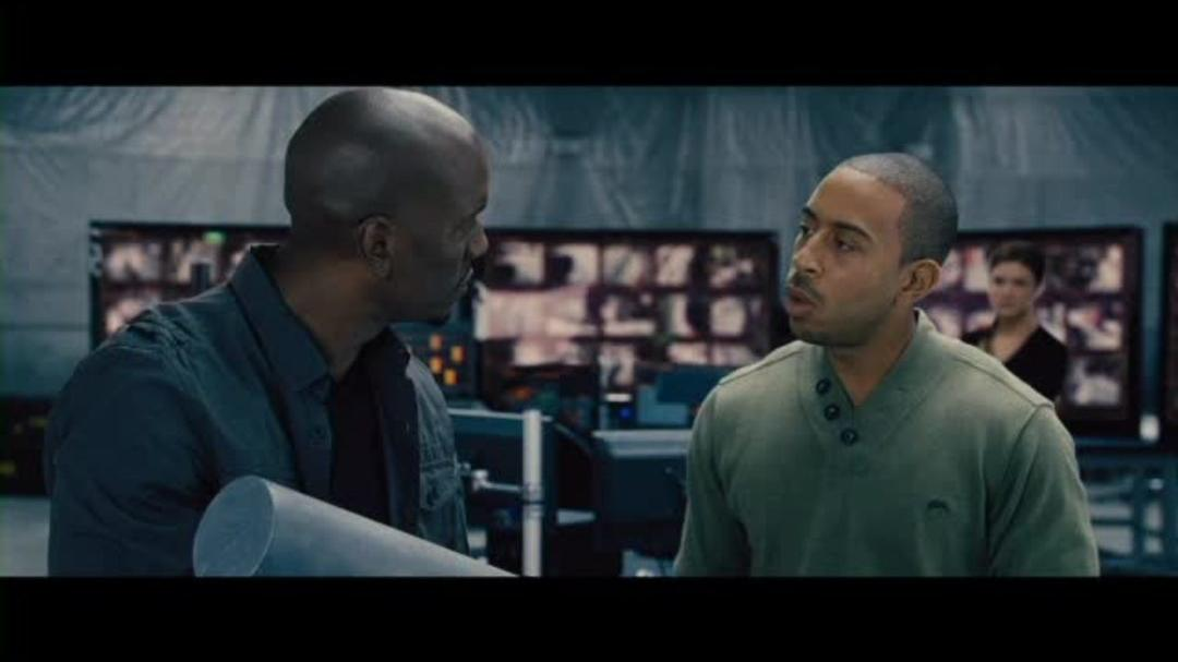 Fast & Furious 6 Clip - Tej and Roman Face off