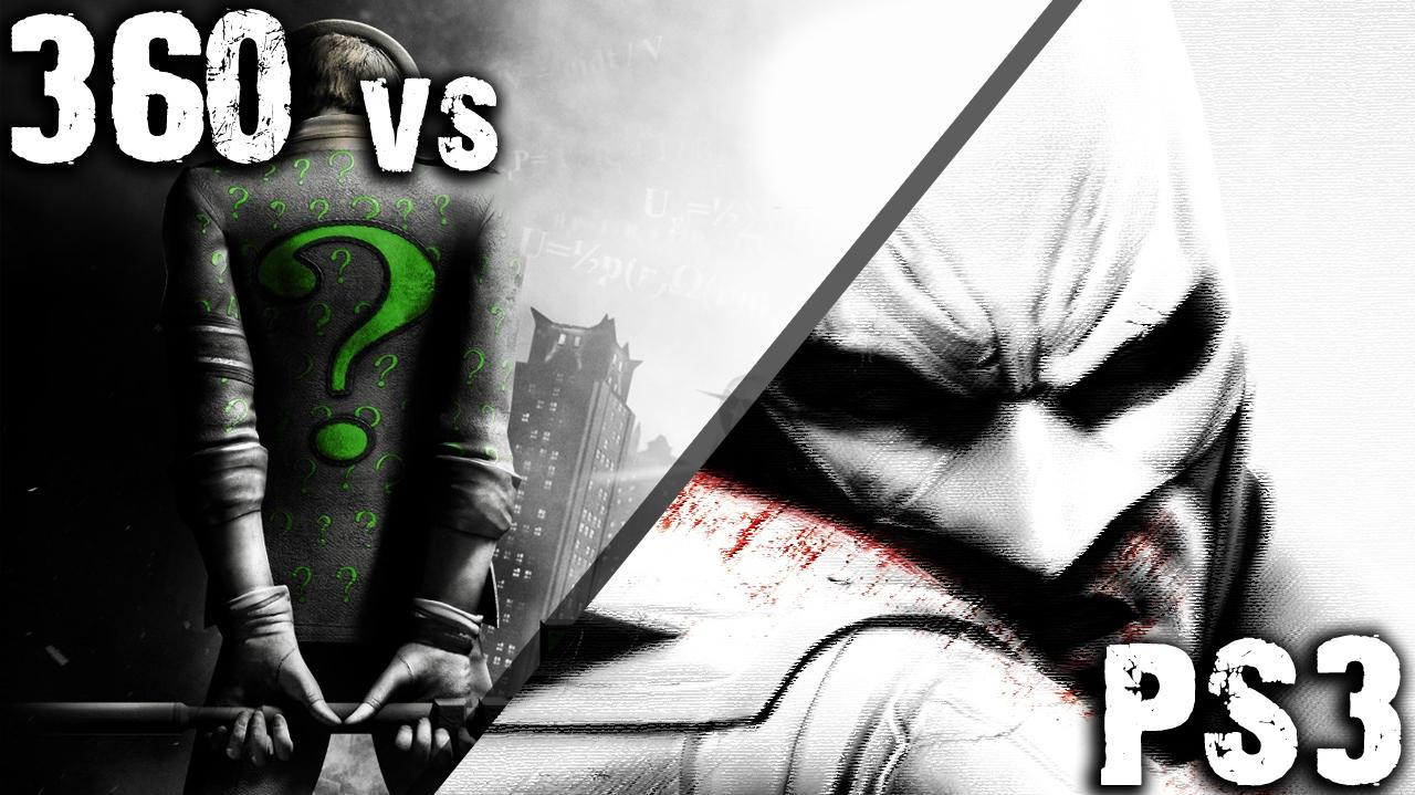 Batman Arkham City - PS3 vs 360