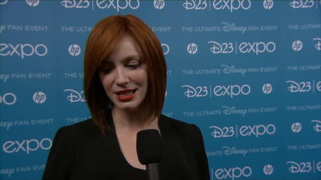 The Pirate Fairy - Christina Hendricks - D23 Interview