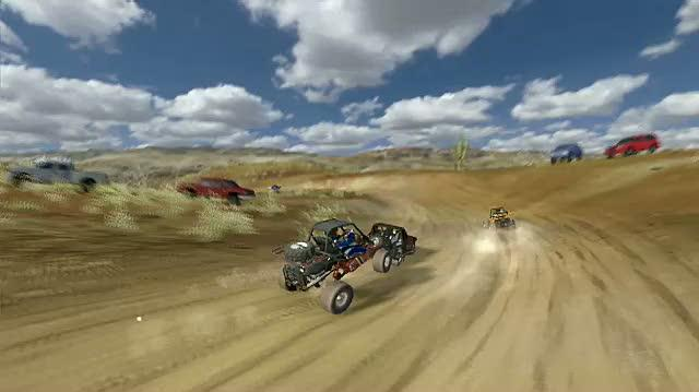 Baja Edge of Control Xbox 360 Trailer - Kart Race