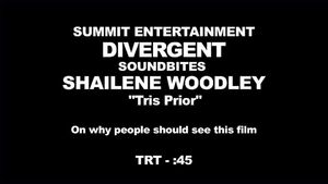 Divergent - Shailene Woodley Interview 'Why People Should See the Film'