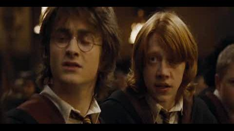 Harry Potter and the Goblet of Fire - Mad-Eye Moody's entrance