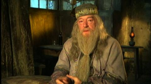 """Harry Potter and the Order of the Phoenix (2007) - Interview Sir Michael Gambon """"On Dumbledore being vulnerable in Harry's eyes"""""""
