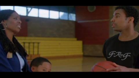 Playas Ball - cedric plays with his nephew