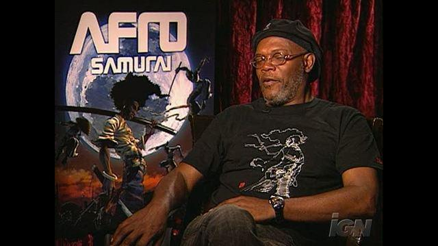 Afro Samurai Resurrection TV Interview - Samuel L. Jackson
