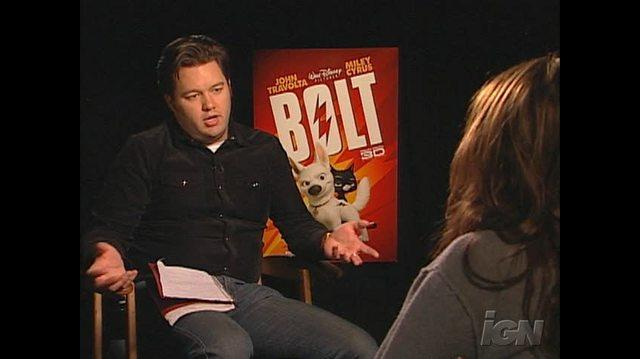 Bolt Movie Interview - Miley Cyrus