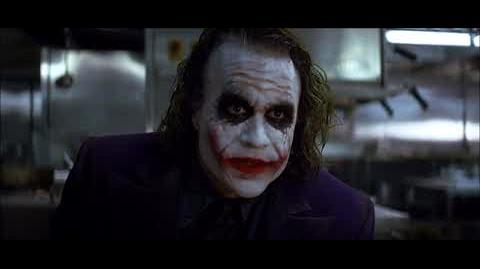 The Dark Knight - The Joker crashes the mob meeting