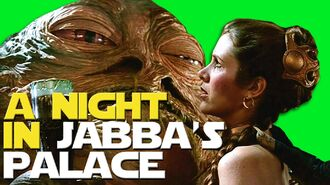 What's It Like to Spend a Night in Jabba's Palace?