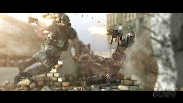 Army of Two PlayStation 3 Trailer - Teamwork Trailer