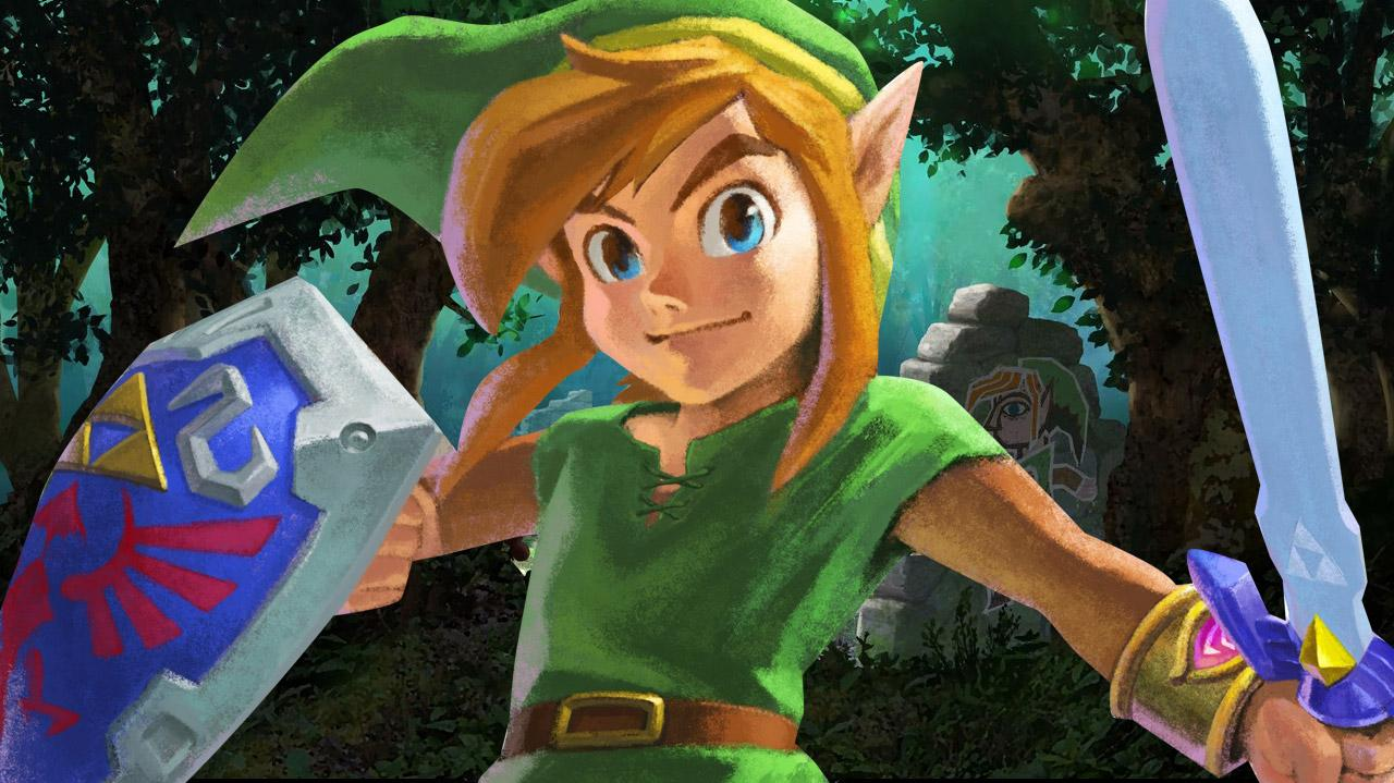 The Legend of Zelda A Link Between Worlds - New York Comic-Con Trailer