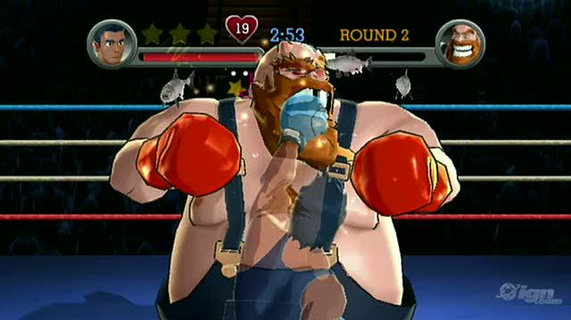 Punch-Out!! Nintendo Wii Gameplay - Beware of the Bear Hug