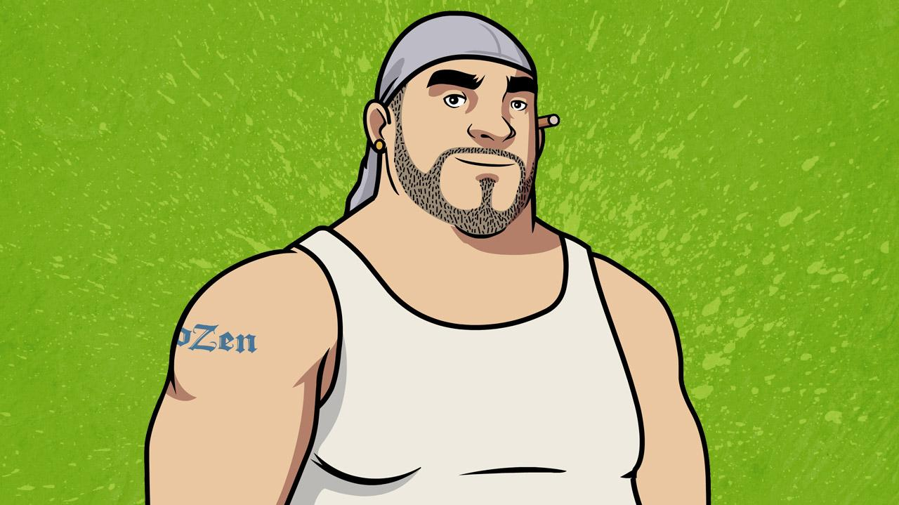 Chozen Team on How Much Can You Show on FXX - NY Comic Con 2013