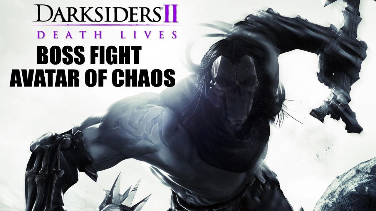 Darksiders II Boss Fight Avatar of Chaos - Gameplay