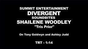 Divergent - Shailene Woodley Interview 'On Tony Goldwyn and Ashley Judd'