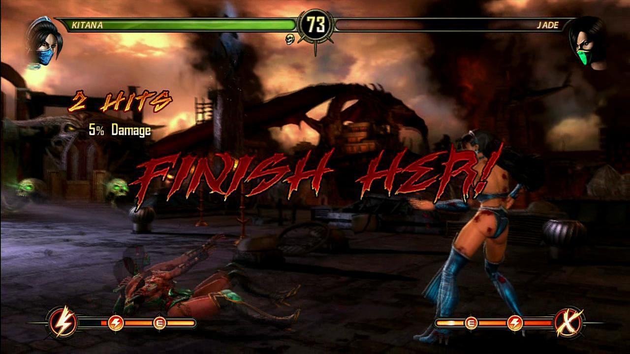 Mortal Kombat Kitana Fatalities