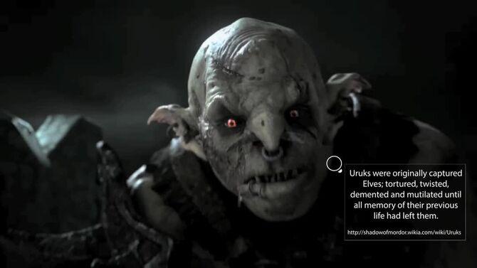 Shadow of Mordor - Gravewalker Trailer Fannotation