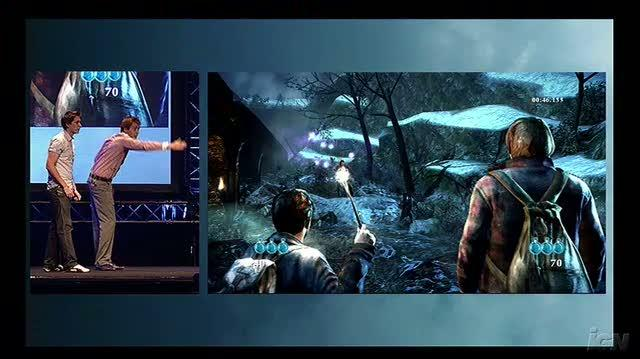 Harry Potter Deathly Hallows X360 - Gamescom Conference Demo