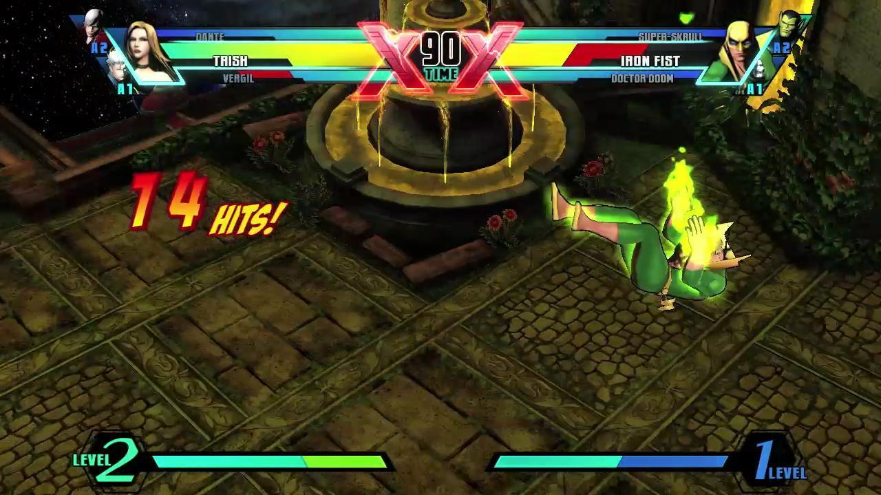 Ultimate Marvel vs Capcom 3 Vergil