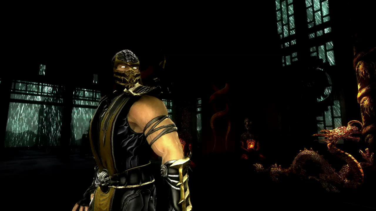 Scorpion Vignette - Mortal Kombat