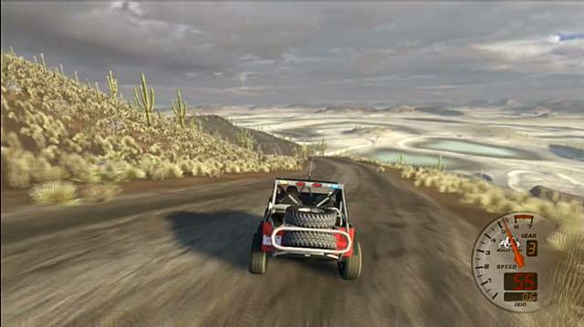 Baja Edge of Control Xbox 360 Gameplay - Jeep Free Ride