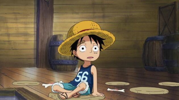 File One Piece - Episode 493 - Luffy and Ace! the Story of How the Brothers Met!