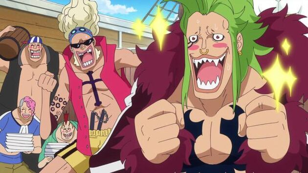 File One Piece - Episode 747 - The Silver Fortress! Luffy and Barto's Great Adventure!