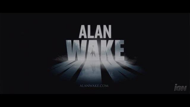 Alan Wake Xbox 360 Trailer - Alan Is Awake Trailer