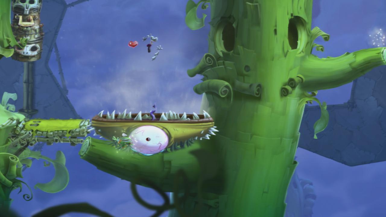 Rayman Legends Walkthrough Toad Story - The Winds of Strange